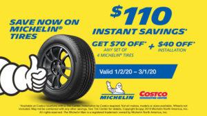 costco tire center prices